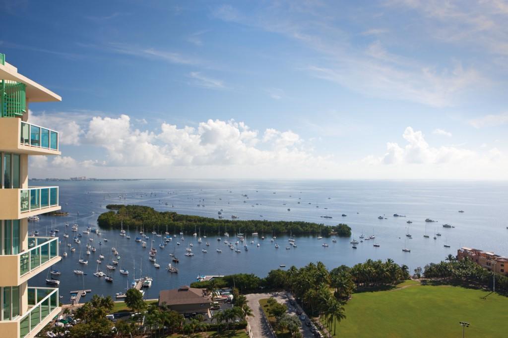 Sonesta Coconut Grove - view of Biscayne Bay