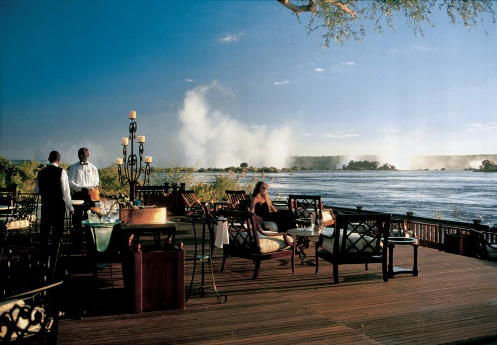 royal livingstone hotel deck victoria falls zambia